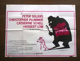 the return of the pink panther ' original film poster