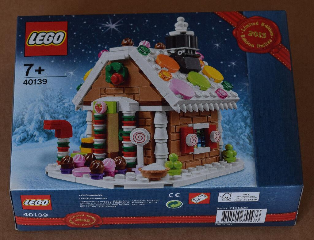LEGO 40139 - Gingerbread House Christmas set 2015 - COLLECTABLE - GIFT IDEA!