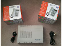 Orchid 416 Plus PBX Small Business Phone System with 7 Speaker Telephone Set