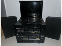 Vintage Record Player/Tape Player/Radio Stereo Music Centre