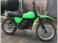 Kawasaki ke175 2 stroke spares or repairs project off-road motocross