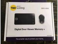 YALE SMART CCTV DOOR VIEWER BRAND NEW WAS £120 TODAY £49