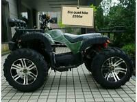 Farm style quad bike eco fully electric 2200w