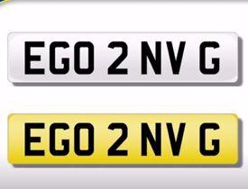 EGO 2 NV G bargain number plate