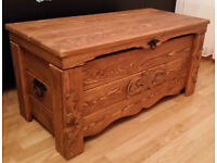 WOODEN CHEST / COFFEE TABLE / TRUNK