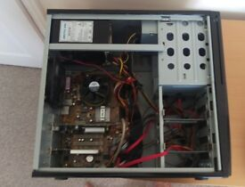Quiet PC Tower with components (needs hard drive)