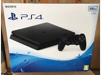 Ps4 Slim 500GB *Hardly used*