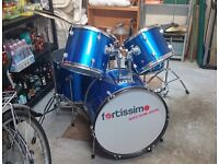 Fortissimo Drum Kit w/ Silencing Pads and Tuning Key