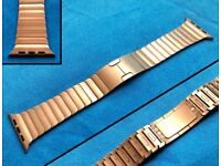 Apple Watch Link Bracelet - 42mm - 100% Genuine - Silver and Space Black Available - Free Shipping