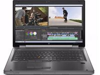 "HP Elitebook's 15.6"" Workstation 8570w laptop core i7 processor 16gb 512 ssd"