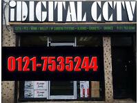 cctv camera 4 cam+hd500gb wd phone view app