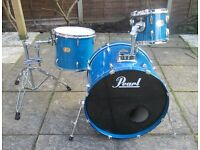 Drums - Pearl Export Series Shell Pack - Aqua Blue - Good Heads
