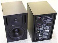 Genelec 1030a Active studio monitors.