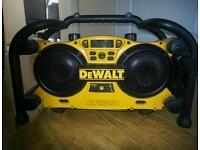 DeWalt DC 011 portable stereo unit