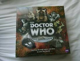Doctor Who DVD Board Game New