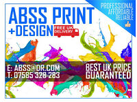 Flyer Printing UK , Graphic Design Included | Flyers, Leaflets, Posters, Menus, Logos & More