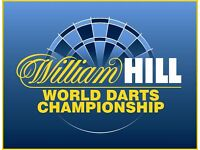 William Hill World Championship Darts at Ally Pally Wednesday 28th dec 13.00, Table N Seats £150