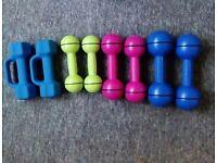 Davina McCall dumbell's/ weights Thornbury Area