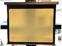 Film Projector & Screen