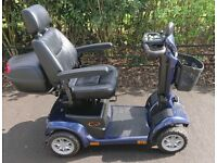 Pride Apex Spirit Plus Mobility Scooter Colour Blue