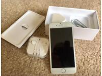 IPHONE 6 16GB UNLOCKED OPEN TO ALL NETWORK ( GOLD)