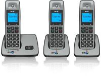 BT 2000 Cordless DECT Trio Phone (Pack of 3)