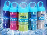 Instant ice cooling towel - Sunburn, UV protection, heatstroke, baby/child shade