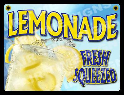 Lemonade Sign - Concession Trailer Stand Restaurant 12 X 17 Pvc