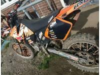 Ktm 125cc exc fast