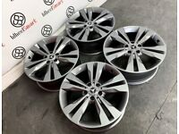 """GENUINE MERCEDES 18"""" ALLOY WHEELS -AVAILABLE WITH TYRES- 5 x 112 - GLOSS GREY - 2244"""