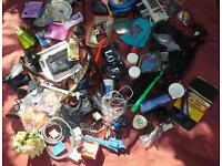 7 Joblot Job lot various items for personal and family use and bric-a-brac for boot sales.