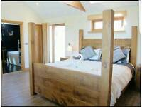 Bespoke rustic beds king-size double bed king-size etc