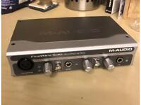 m audio solo firewire