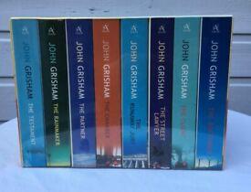 John Grisham King of the Legal Thriller box set 8 paperbacks new unopened.