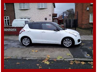 2013 Suzuki Swift 1.2 --5 Doors -- Automatic -- Low 30000 Miles -- reverse parking camera -- white