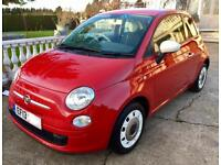 2013 FIAT 500 1.2 5 SPEED COLOUR THERAPY FULL FIAT SERVICE HISTORY ONLY 31K 6 MONTHS WARRANTY!!