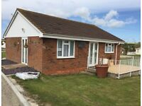 3 bed holiday bungalow
