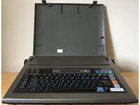 Typewriter - Panasonic Electronic Typewriter KX-R550