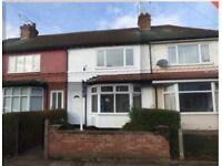 2 Bed Terraced house - Beeston NG9 1GP - 3 min walk to Tram Stop