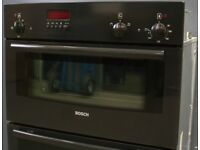 Integrated Double Oven Bosch+ 12 Months Warranty!!
