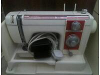 New home electric sewing machine for sale with carry case