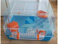 Hamster cages and play/exercise equipment - complete home in very good condition