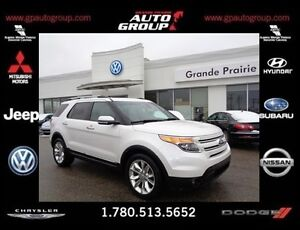 2013 Ford Explorer LIMITED DVD LEATHER SEATS