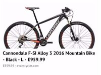 Cannodale bike brand new