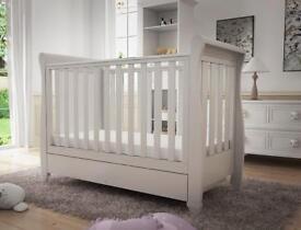Babymore Eva Sleigh Cot Bed