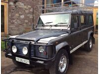 Landrover Defender 110 County Station Wagon. One Not To Be Missed!