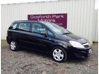 Vauxhall Zafira 1.6 Exclusive (58reg) *Full Mot *7 Seats *Part Exchange Welcome