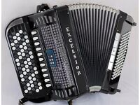 Excelsior 706 MIDI LT - 5 Row Chromatic C-System - Musette - Double Cassotto - 96 Bass Accordion