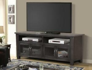 *** BRAND NEW *** HUGE SALE ***TV STAND - GREY FINISH***LIMITED STOCK****