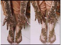 Bridal Mehendi Henna Make-up Facial Manicure Eyebrows Haircuts